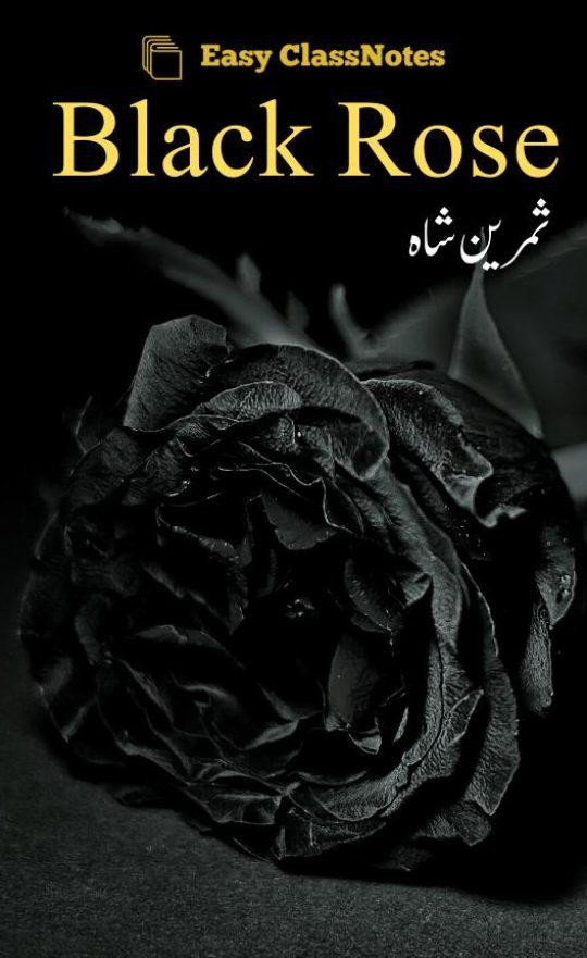 Black Rose By Samreen Shah Complete Novel Free Download