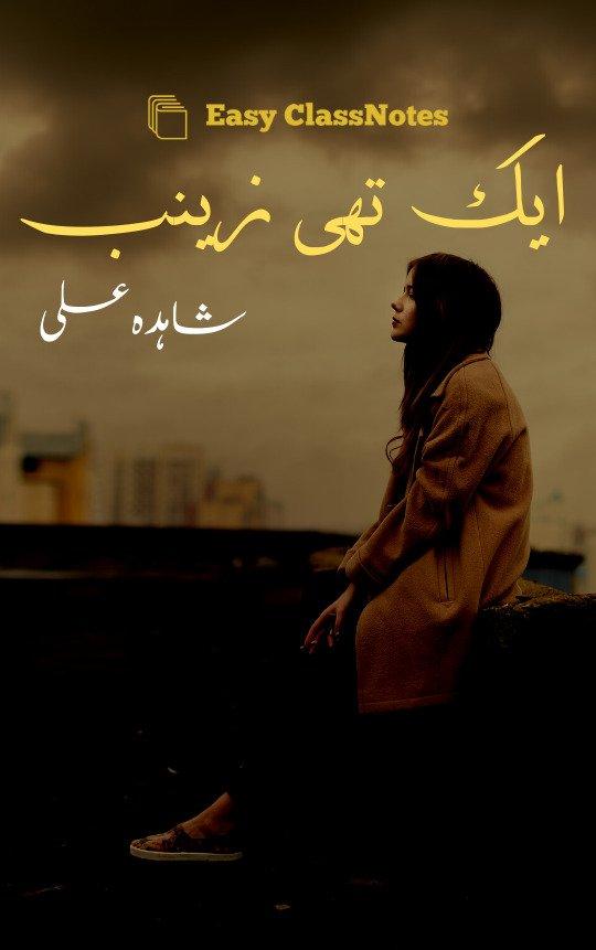 Aik Thi Zainab By Shahida Ali