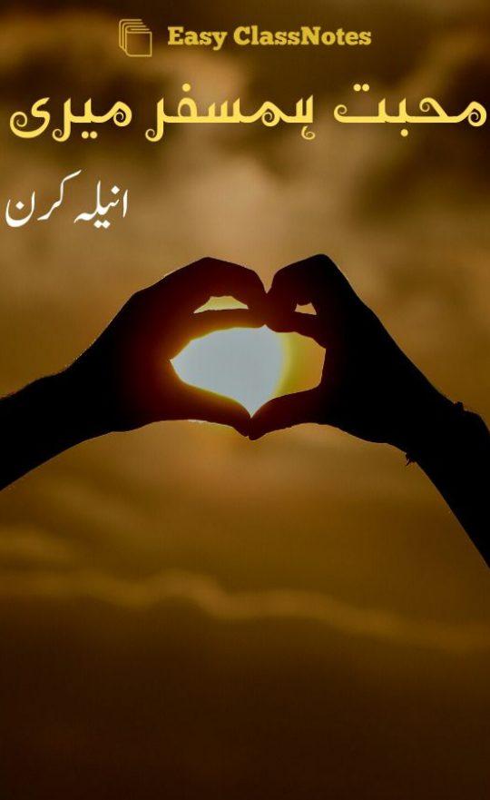 Mohabbat Humsafar Meri By Anila Kiran Complete Novel