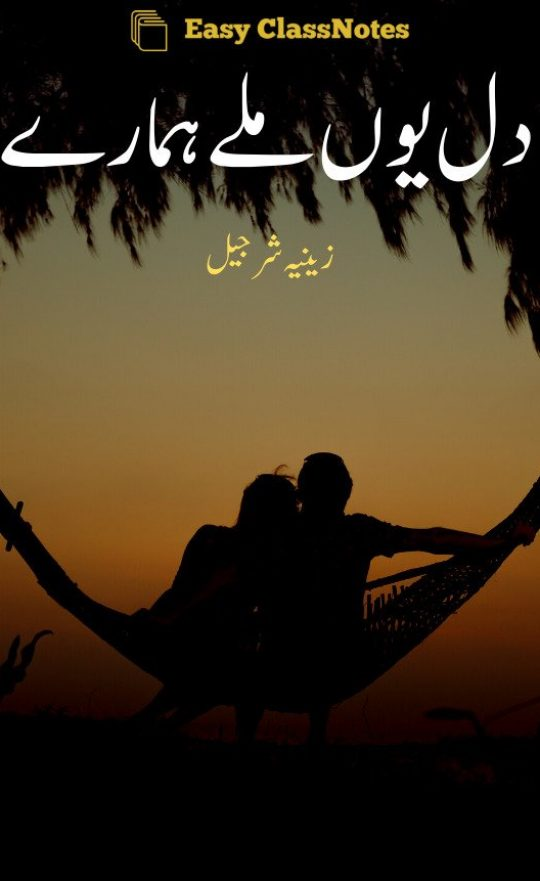 Dil Youn Mily Hamary By Zeenia Sharjeel Complete Novel PDF